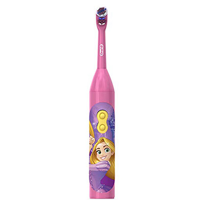 Best Electric Toothbrushes for Kids Oral B Kids Battery Power Toothbrush featuring Disney Princess Characters