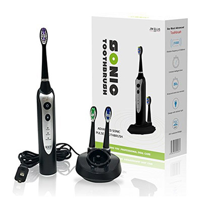 Best Ultrasonic Toothbrushes Sonic Electric Toothbrush Designed By Celebrity Dentist Dr. Jim Ellis